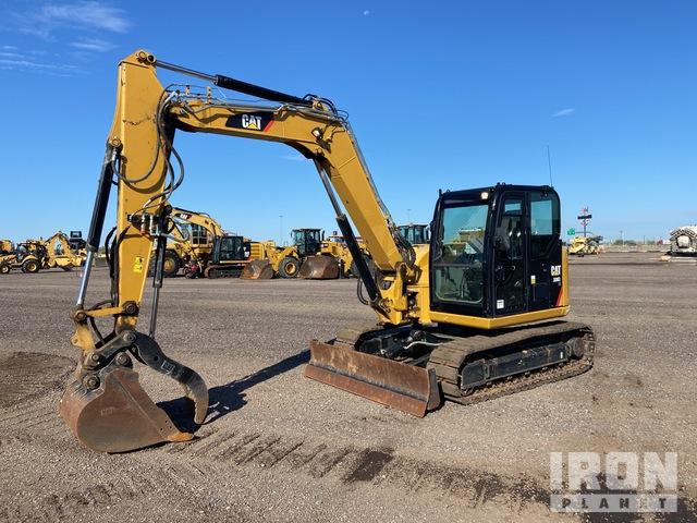 2018 Cat 308E2 CR Track Excavator, Hydraulic Excavator