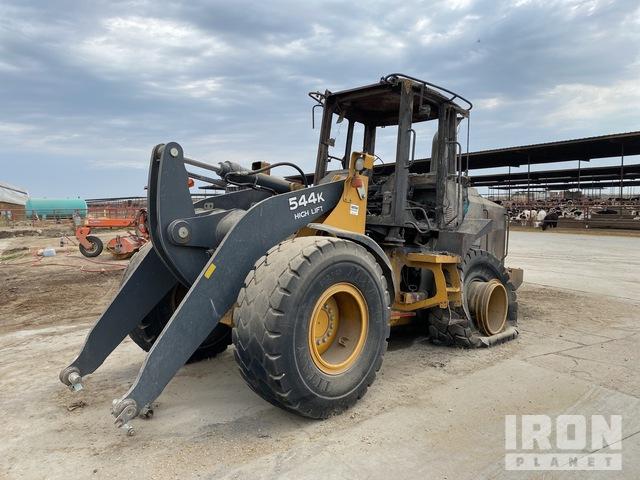 2014 John Deere 544K High Lift Wheel Loader, Parts/Stationary Construction-Other