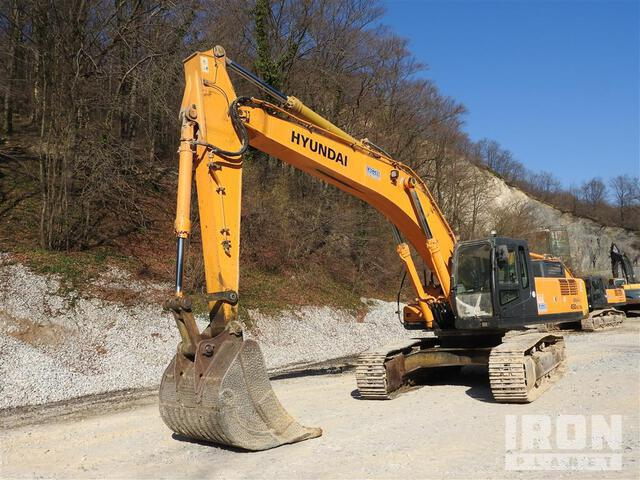 2007 Hyundai R450LC-7A Track Excavator, Hydraulic Excavator