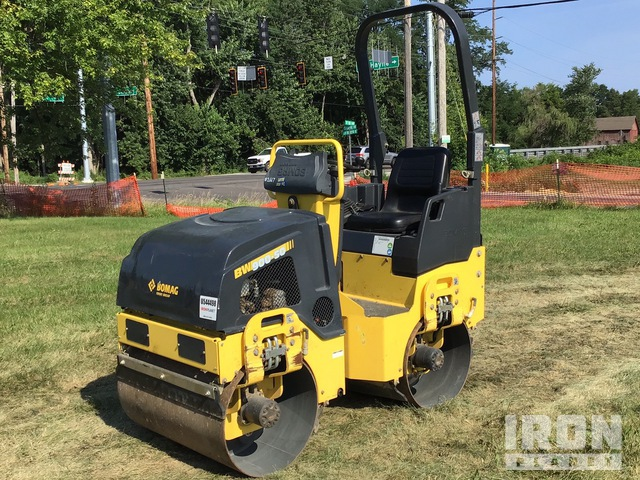 2018 Bomag BW900-50 Vibratory Double Drum Roller, Tandem Roller