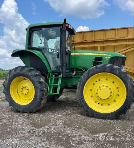 2012 (unverified) John Deere 7330 4WD Tractor, MFWD Tractor