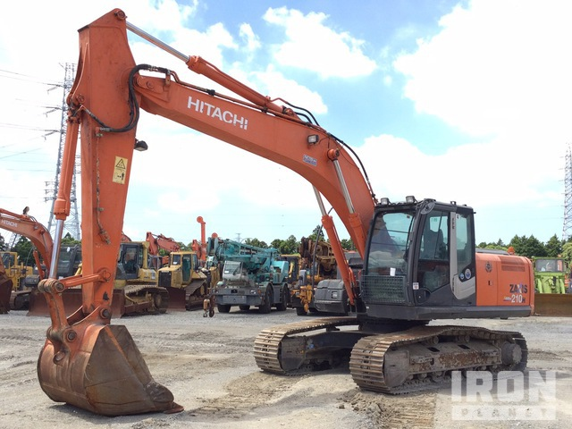 2013 年 Hitachi ZX210H-3 Track Excavator, Hydraulic Excavator
