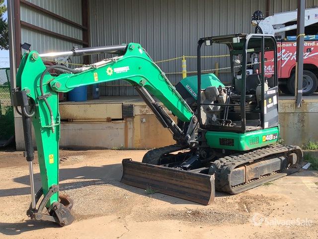 2018 (unverified) JCB 48Z-1 Mini Excavator, Mini Excavator (1 - 4.9 Tons)