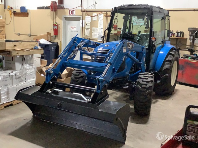 2020 (unverified) LS Mtron MT347SH 4WD Tractor, MFWD Tractor