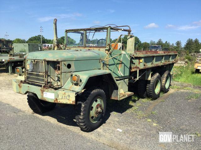 Surplus Kaiser / Jeep M35A2 2 1/2 Ton 6x6 Cargo Truck in