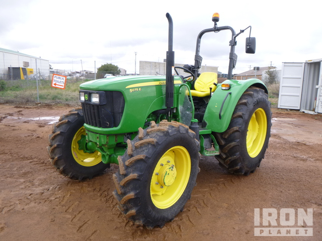 2019 John Deere 5075E 4WD Tractor, MFWD Tractor