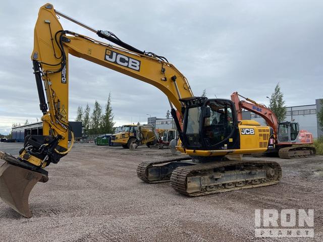 2014 JCB JS210LC Track Excavator, Hydraulic Excavator