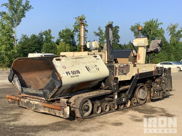 2006 Ingersoll-Rand PF-5510 Track Asphalt Paver, Asphalt Paver