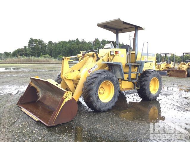 2000 年 Komatsu WA100-3A Wheel Loader, Wheel Loader