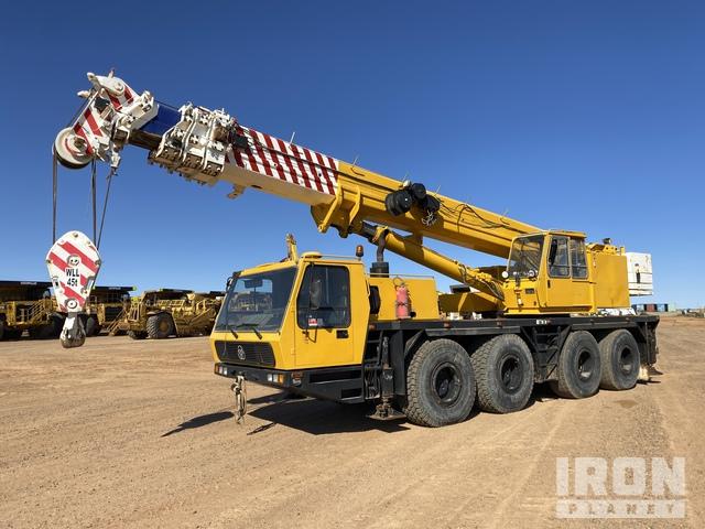 1991 Krupp KMX4080 80 t 8x6x6 All Terrain Crane, All Terrain Crane
