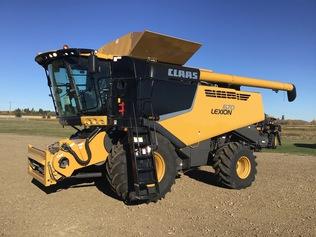 Kombinerte innhøstingsmaskiner