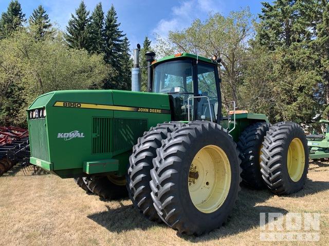 1990 John Deere 8960 Articulated Tractor, 4WD Tractor