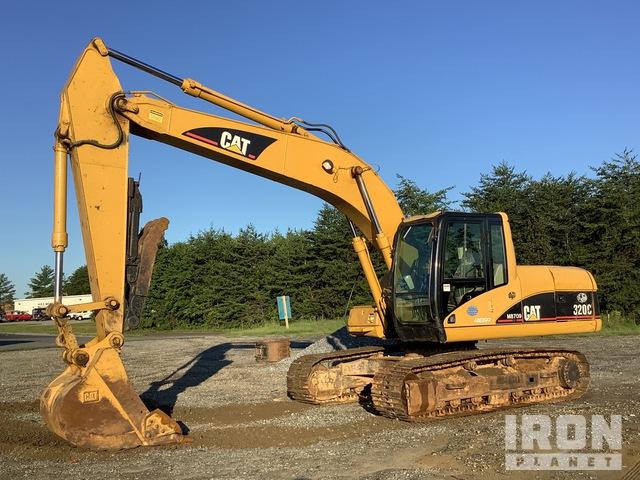 2001 Cat 320C Track Excavator, Hydraulic Excavator
