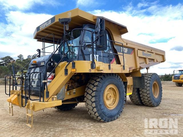 2010 Cat 773F Off-Road End Dump Truck, Rock Truck