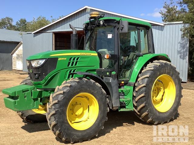 2015 John Deere 6105M 4WD Tractor, MFWD Tractor