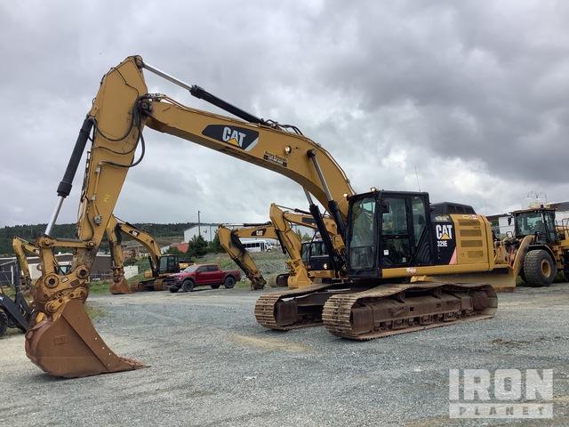 2013 Cat 329E L Track Excavator, Hydraulic Excavator