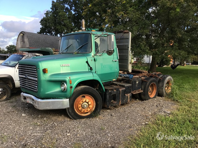 1990 Ford LTS 9000 6x4 T/A Day Cab Truck Tractor, Parts/Stationary Construction-Other