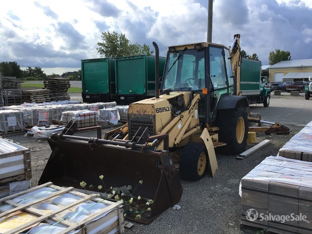 New Holland 655D 4x4 Backhoe Loader, Parts/Stationary Construction-Other