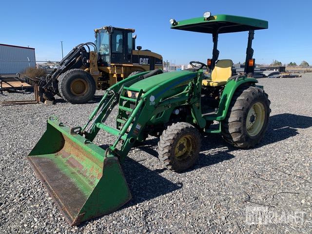 John Deere 4120 4WD Tractor, MFWD Tractor