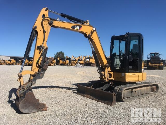 2015 Cat 305.5E2 CR Mini Excavator, Mini Excavator (1 - 4.9 Tons)
