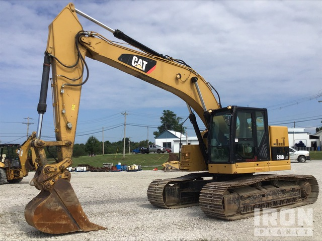 2010 Cat 328D LCR Track Excavator, Hydraulic Excavator