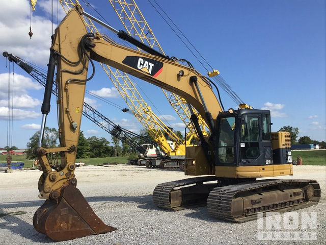2011 Cat 321D LCR Track Excavator, Hydraulic Excavator