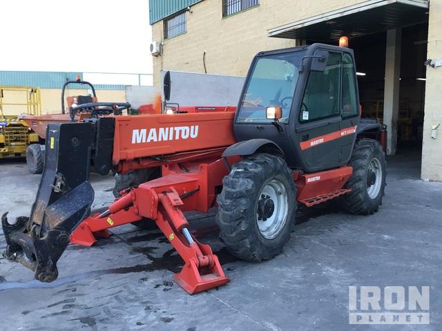 2006 Manitou MT1435SL Telehandler, Telescopic Forklift