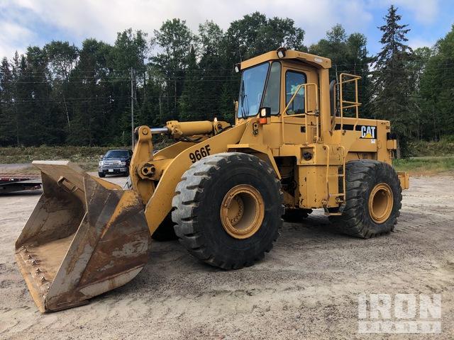 1991 Cat 966F Wheel Loader, Wheel Loader