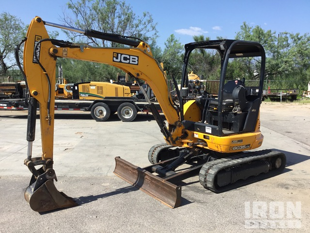 2015 (unverified) JCB 8035ZTS Mini Excavator, Mini Excavator (1 - 4.9 Tons)
