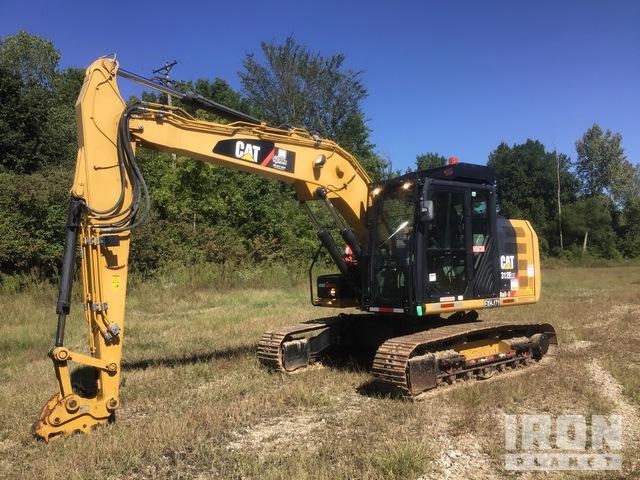 2012 Cat 312ERX Rail-X Track Excavator, Hydraulic Excavator
