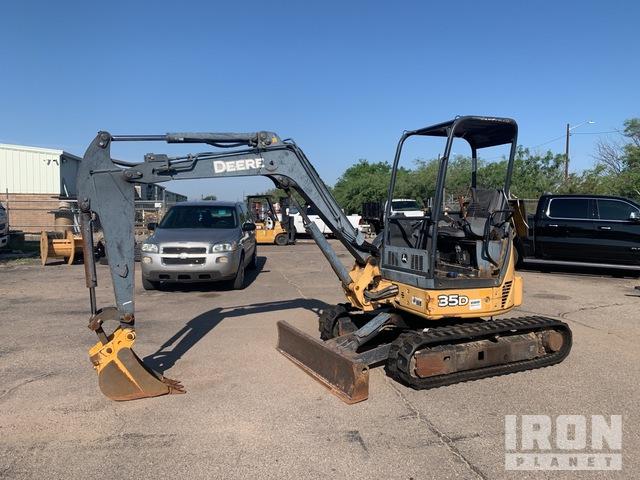2006 John Deere 35D Mini Excavator, Mini Excavator (1 - 4.9 Tons)