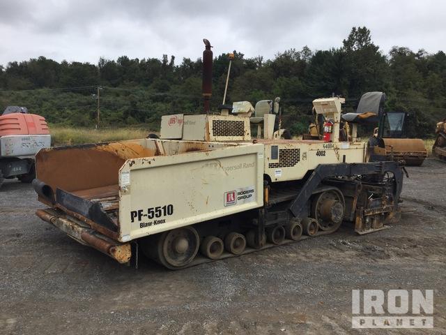 2000 Ingersoll-Rand PF-5510 Track Asphalt Paver, Asphalt Paver