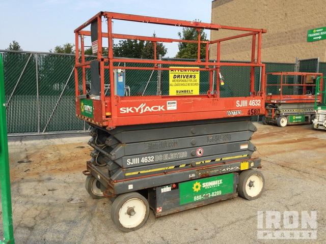 2012 Skyjack SJIII 4632 Electric Scissor Lift, Scissorlift