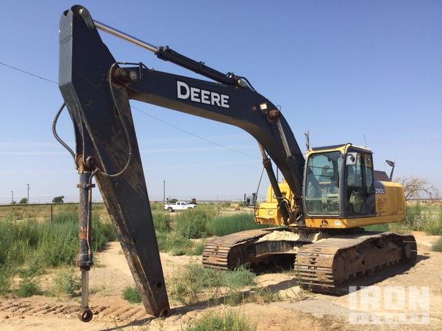2013 John Deere 290G LC Track Excavator, Hydraulic Excavator
