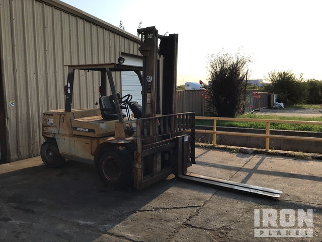 CAT 12,000LB Capacity Forklift (INOP-BOS), Rough Terrain Forklift