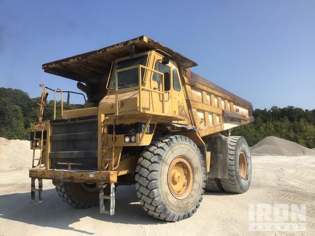 1992 Cat 773B Off-Road End Dump Truck, Rock Truck