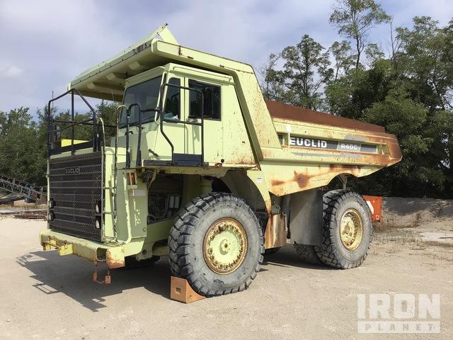 1998 Euclid/Hitachi R40C Off-Road End Dump Truck, Rock Truck