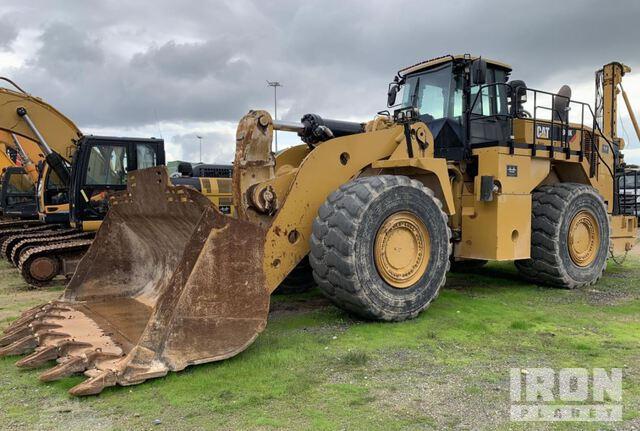2016 Cat 988K Wheel Loader, Wheel Loader