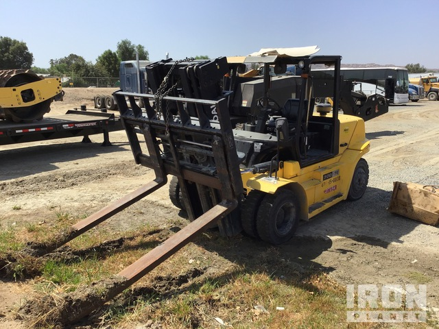 2013 Hyundai 70D-7E Pneumatic Tire Forklift, Parts/Stationary Construction-Other