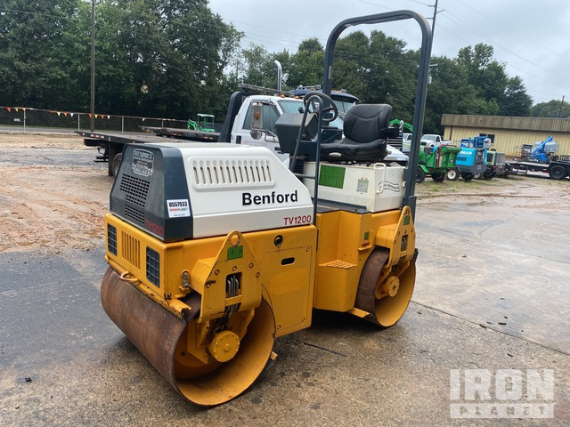 Benford TV1200DPR Vibratory Double Drum Roller, Tandem Roller