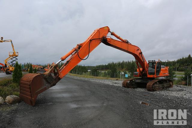 2007 Doosan DX480LC Track Excavator, Hydraulic Excavator