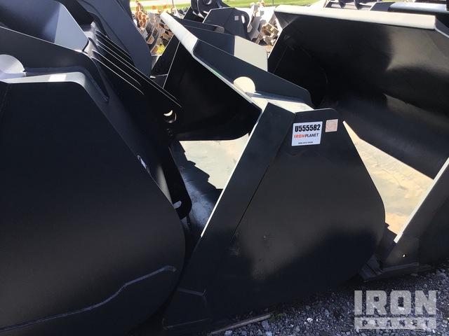 Hyundai 102 in. Wheel Loader Bucket - Fits Hyundai HL740XTD-9, Wheel Loader Bucket