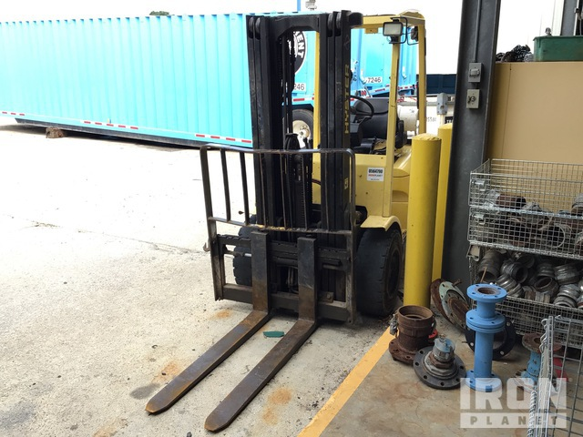 2002 (unverified) Hyster H65XM Pneumatic Tire Forklift, Parts/Stationary Construction-Other