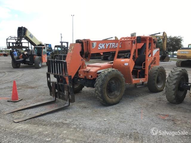 2015 SkyTrak 8042 Telehandler, Telescopic Forklift