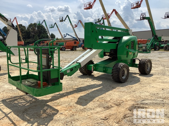 2013 JLG 450A 4WD Diesel Articulating Boom Lift, Boom Lift