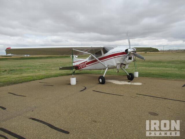 1977 Cessna 180K Prop Type Plane, Aircraft