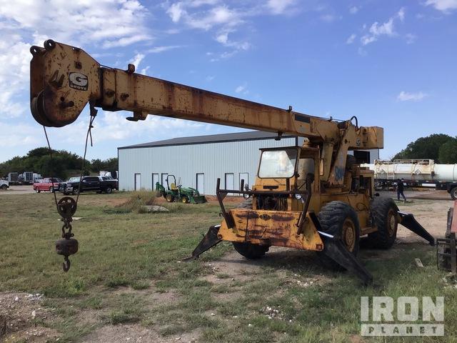 1973 Grove RT58 28000 lb 4x4 Rough Terrain Crane, Rough Terrain Crane