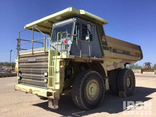 2000 Euclid/Hitachi EH700 Off-Road End Dump Truck, Rock Truck