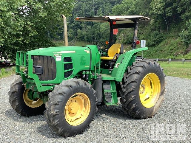 2012 John Deere 6100D 4WD Tractor, MFWD Tractor