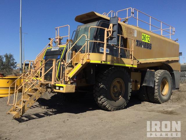 2009 Cat 775F Off Highway Fuel & Lube Truck (Inoperable), Rock Truck